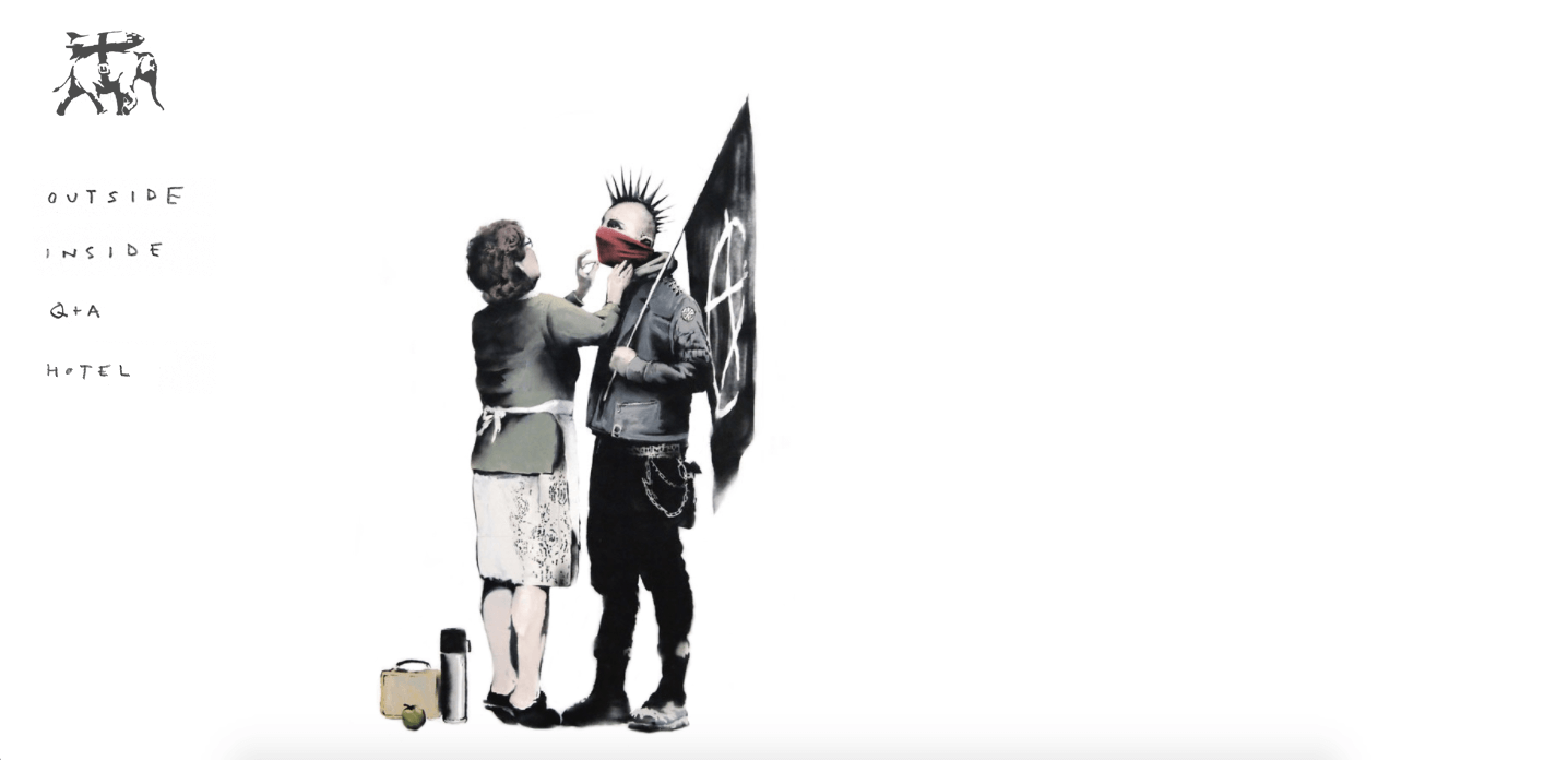 Artist Websites - Banksy